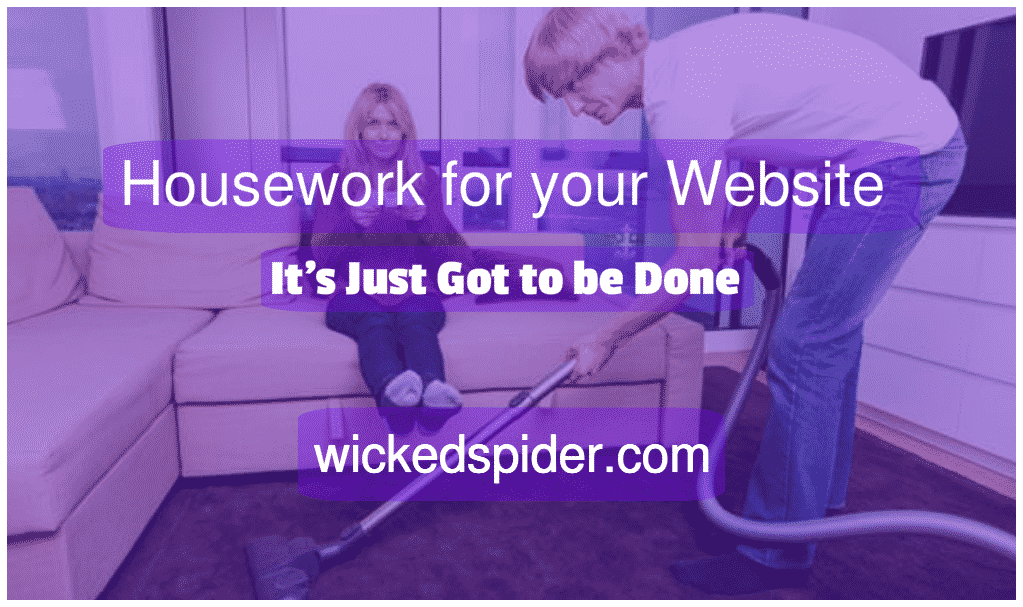 Housework for your Website