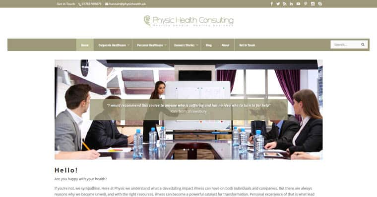 Physic Health Consulting