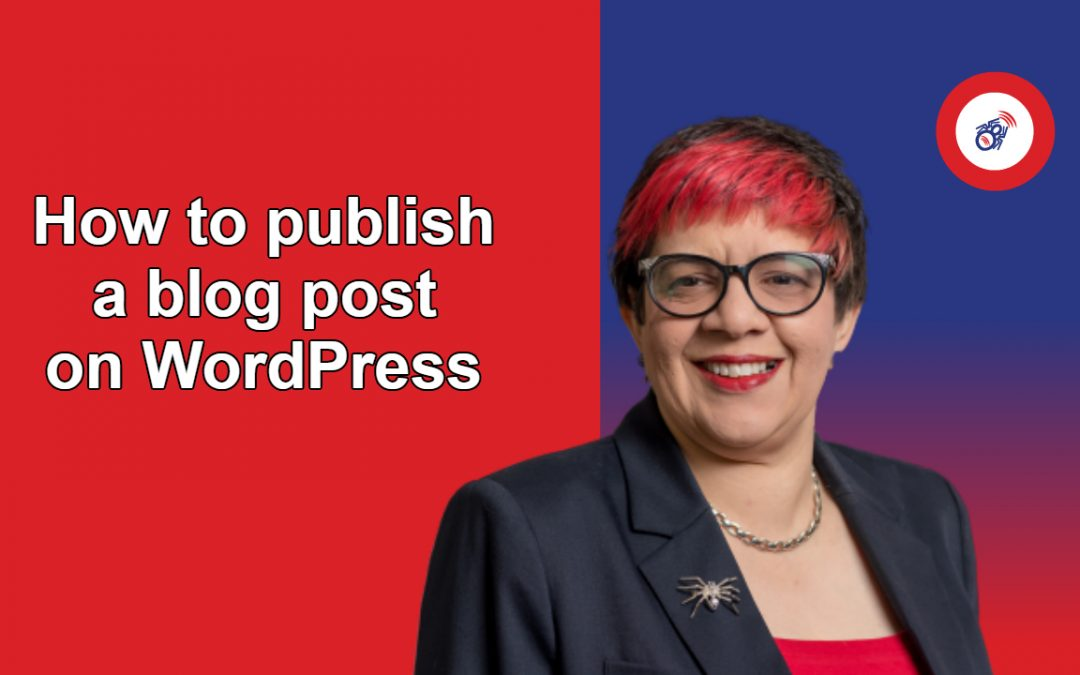 How to publish a blog post on WordPress